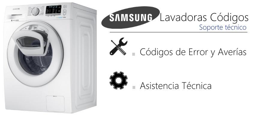 SAMSUNG Ecobubble Código error Lavadora | GMService