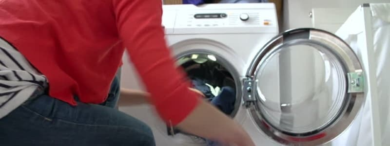 Como hacer el mantenimiento en lavadoras