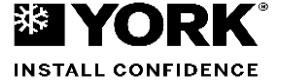 Códigos de error Aire Acondicionado York