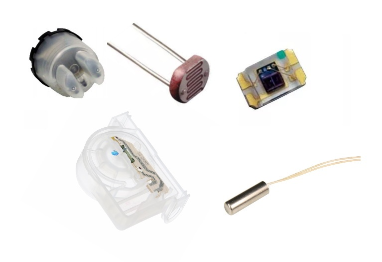 Sensores aplicaciones y electrodomésticos