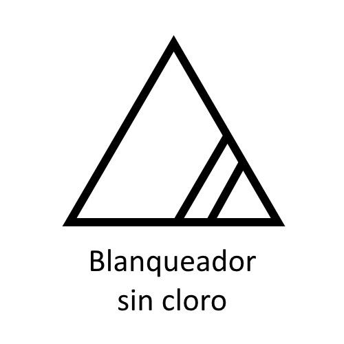 Significado de los Símbolos en etiquetas blanqueador sin cloro ©GMCService