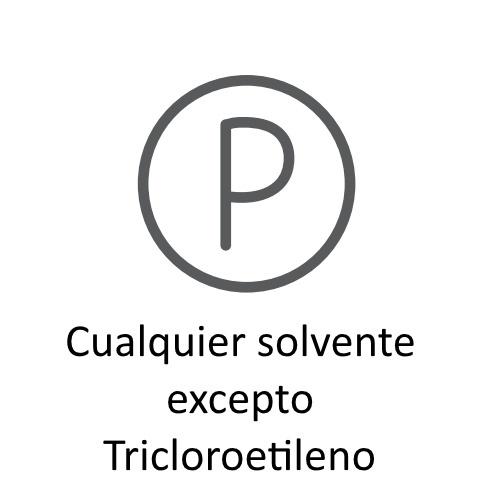 Significado de los Símbolos en etiquetas para lavado en seco solvente ©GMCService