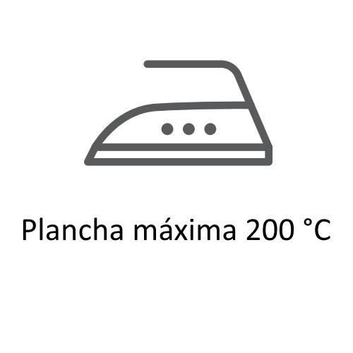 Símbolos de secado  y planchado en las etiquetas de ropa,planchado 200º ©GMCService