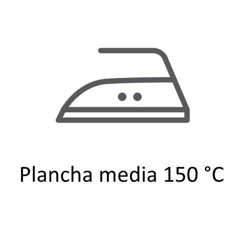Símbolos de secado  y planchado en las etiquetas de ropa,planchado 150º ©GMCService
