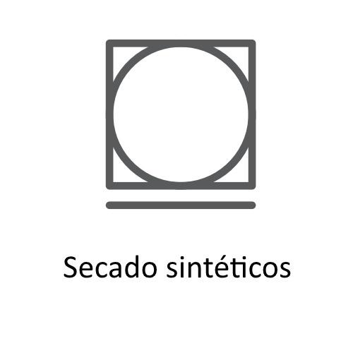 Símbolos de secado  y planchado en las etiquetas de ropa,secado sintéticos ©GMCService